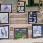 В знак на почит : Ученици подариха свои картини на медици от Пещера