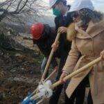 """Направиха символичната """"Първа копка"""" за рекултивация на старото общинско сметище в Брацигово"""
