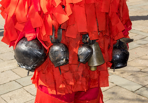 ritual bells Bulgaria