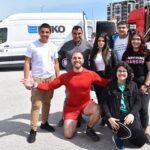 Гимназията дари капачки за детска линейка