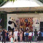Магичен цирк на открито събра децата на Пещера